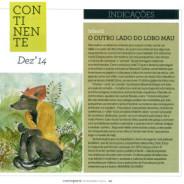 O Lobo Mau nas indicações da Revista Continente!