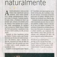 Matéria sobre o espetáculo O DIA EM QUE A MORTE SAMBOU no Jornal do Commercio