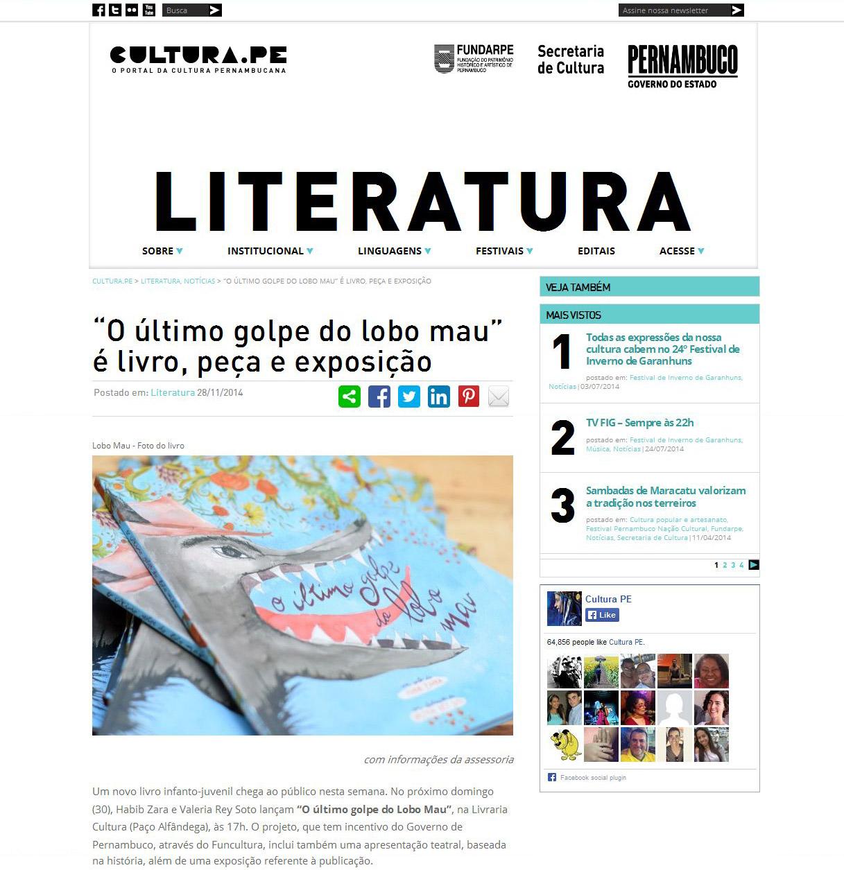 14-11-28 Cultura.PE pág 1
