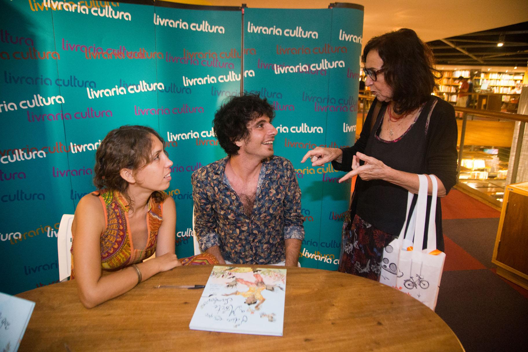 Com a escritora Lenice Gomes